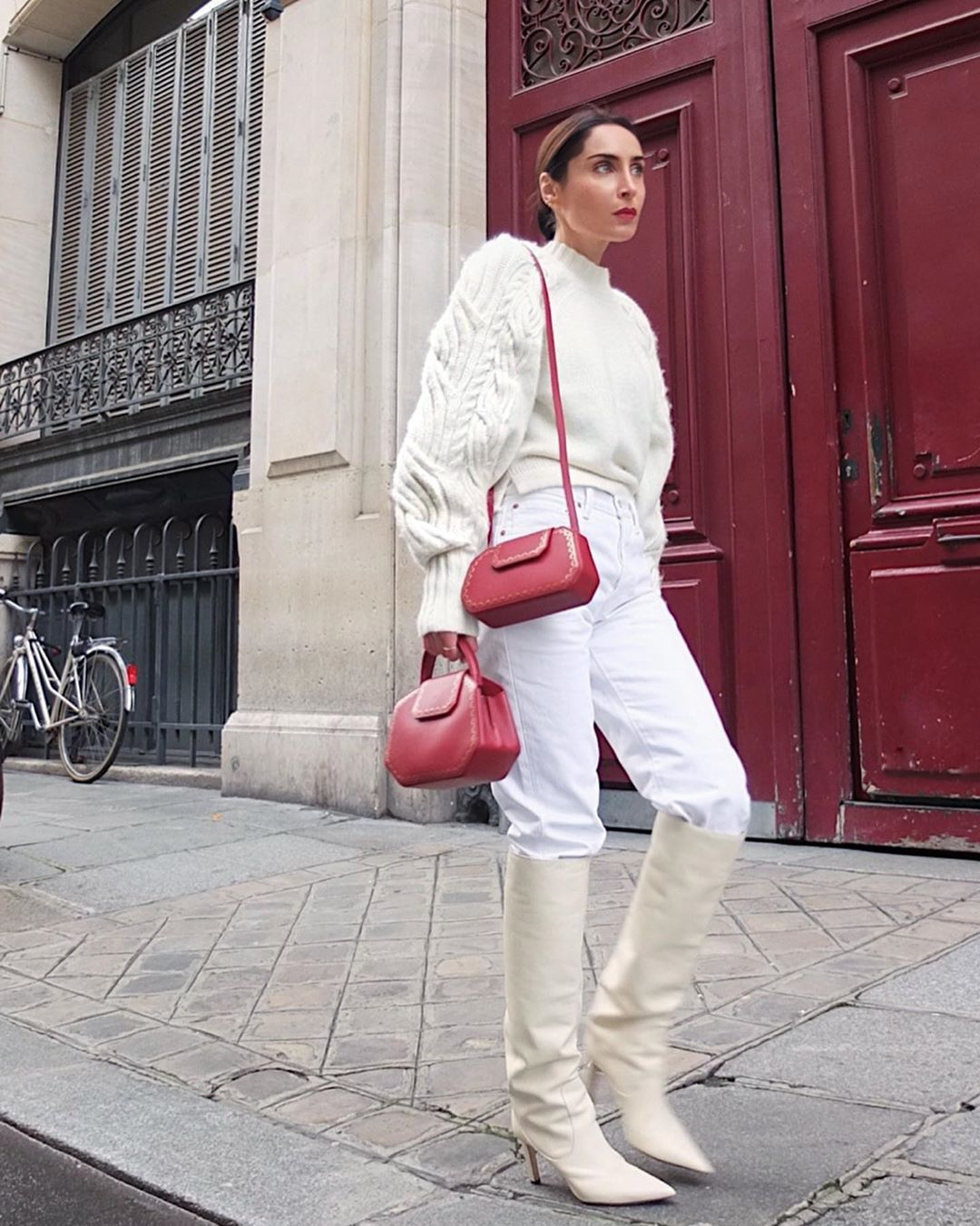 This Winter White Look Is One to Recreate