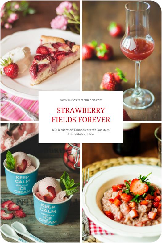 Die leckersten Erdbeerrezepte aus dem Kuriositätenladen