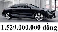 Giá xe Mercedes CLA 200 2018