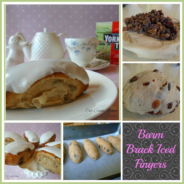 How to make Barm Brack Iced Fingers