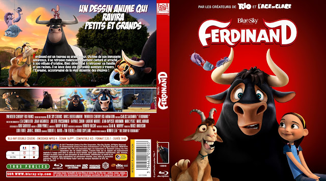 Ferdinand Bluray Cover