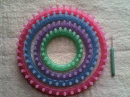 tricotins bon marchés ronds en plastique