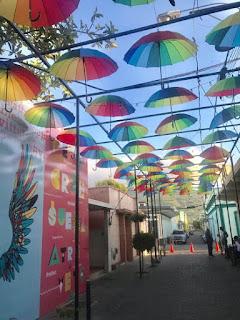 calle de la sombrilla puerto plata