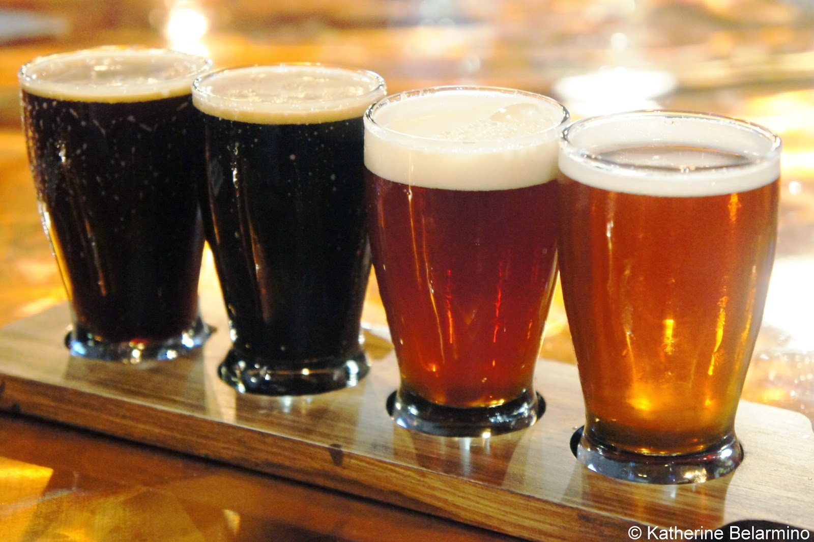 Three Sheets Craft Beer Bar Flight Livermore California Tri-Valley Beer Trail
