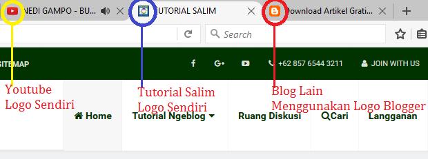 Cara Mengganti Logo Blogger Menjadi Logo Sendiri Pada Blog