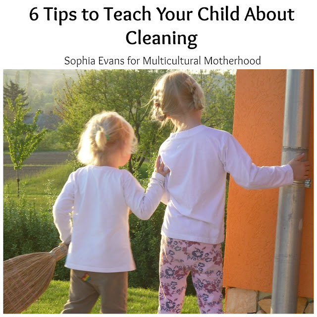 6 Tips to Teach Your Child About Cleaning