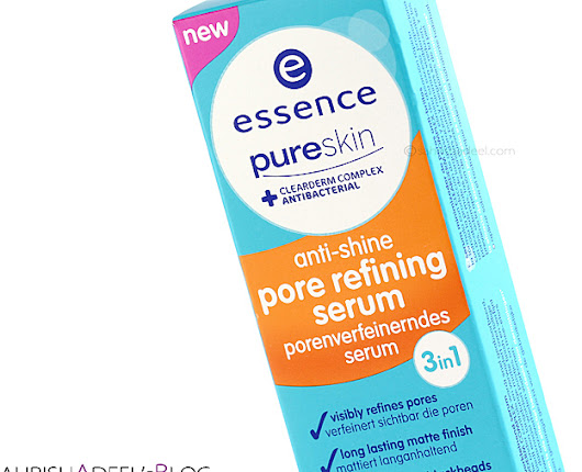 Pure Skin Anti Shine Pore Refining Serum by Essence - Review & Swatch