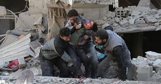 Selain Rezim Syiah Suriah, Rusia juga Disebut Gempur Warga Ghouta Timur