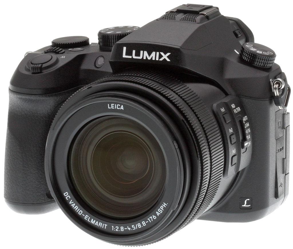 Panasonic Lumix FZ2500, вид спереди