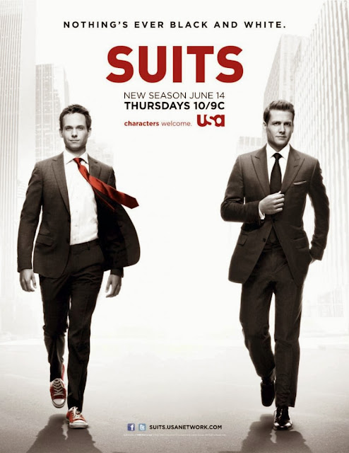 Suits TV show poster