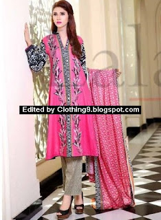 Cotton Embroidered Eid Suits 2015 Vol.1