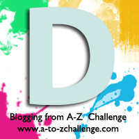 D is for Duck Egg Blue #AtoZChallenge