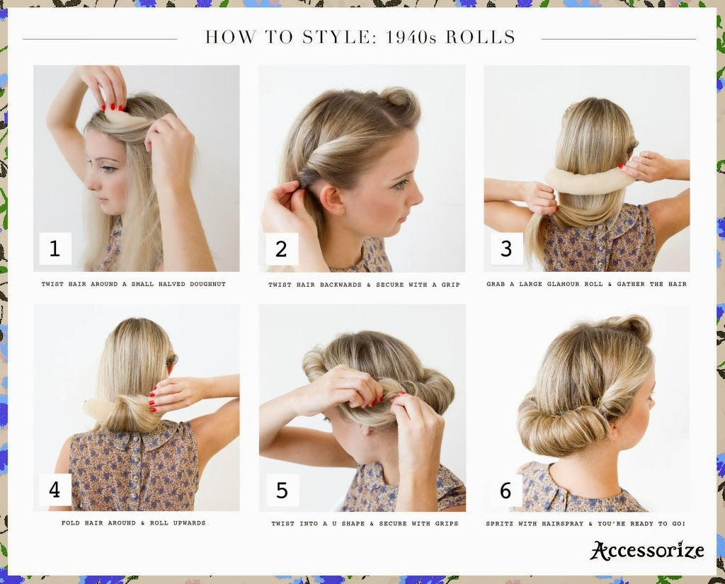 Hair Style 1940: Hair And MakeUp - Michelle's Ideas On Pinterest