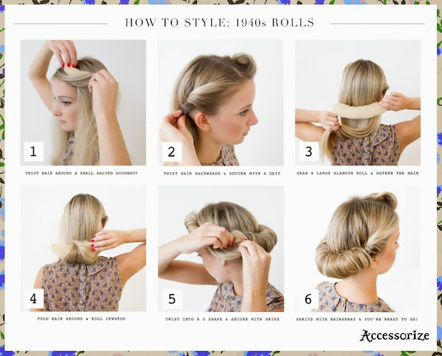 easy 40s hairstyles 73104
