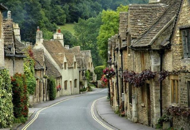 Nước Anh - Vương quốc của những ngôi làng từ truyện tranh