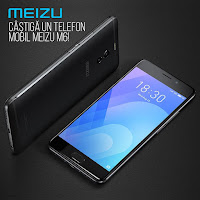 Castiga un Telefon Mobil Meizu M6