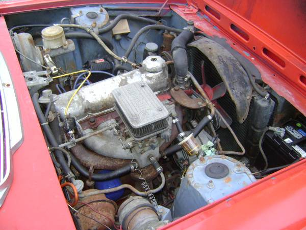 Restoration Project Cars: 1972 Triumph Stag Project And Parts