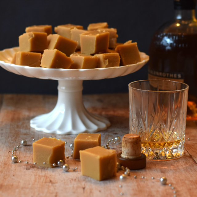 How to make homemade whisky (whiskey) fudge