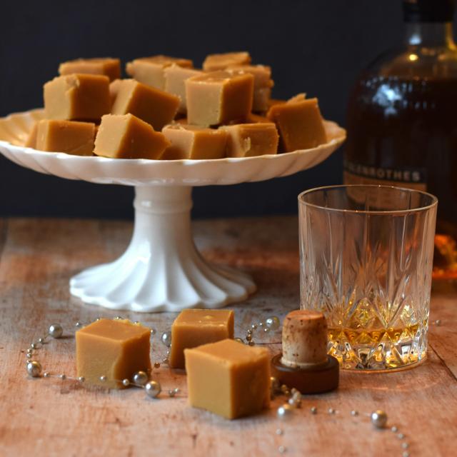 How to make homemade whisky (whiskey) fudge