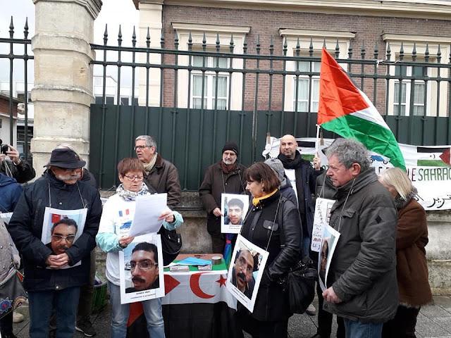 جمعيات من المجتمع المدني الفرنسي تطالب حكومة بلادها التدخل العاجل لإنقاذ حياة معتقلي أكديم إزيك المضربين عن الطعام.