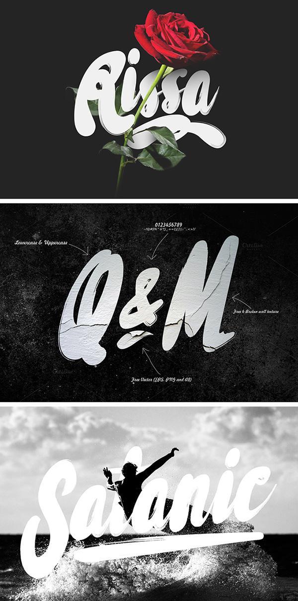 Download Gratis Font Terbaru September 2015 - Rissa Typeface
