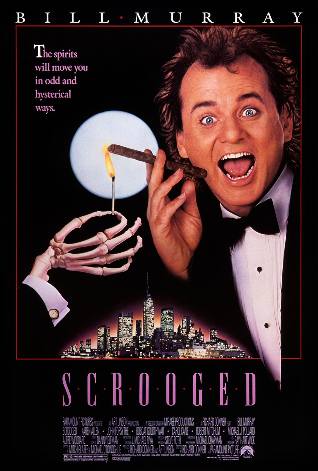 Scrooged (1988) ταινιες online seires oipeirates greek subs