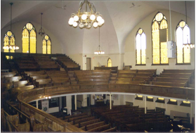 Gallery seating ca. 1999. Photo courtesy of the City of Winnipeg Historical Report.