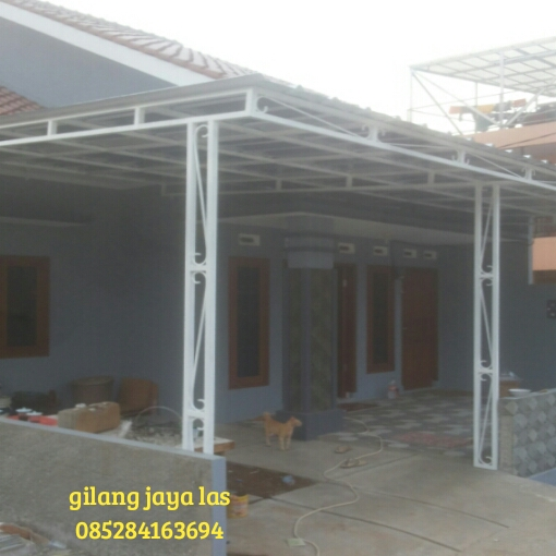 Canopy Baja Ringan Di Jakarta Kanopi Rumah Depok Tukang Bojongsari
