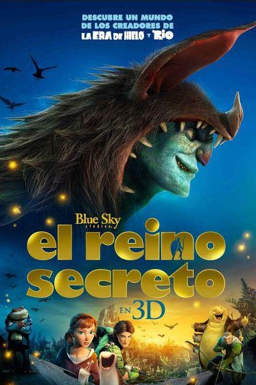 El reino secreto dvdrip espa ol latino for Audio libro el jardin secreto
