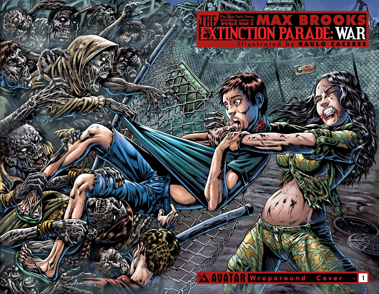 Cover tratta dalla seconda serie di The Extinction Parade: War