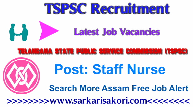 TSPSC Recruitment 2017 Staff Nurse