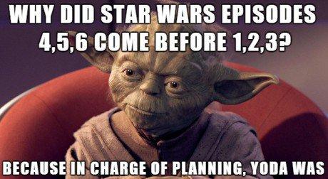 Master Yoda Star Wars Meme