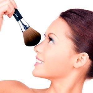 base de maquillaje de verano polvos compactos