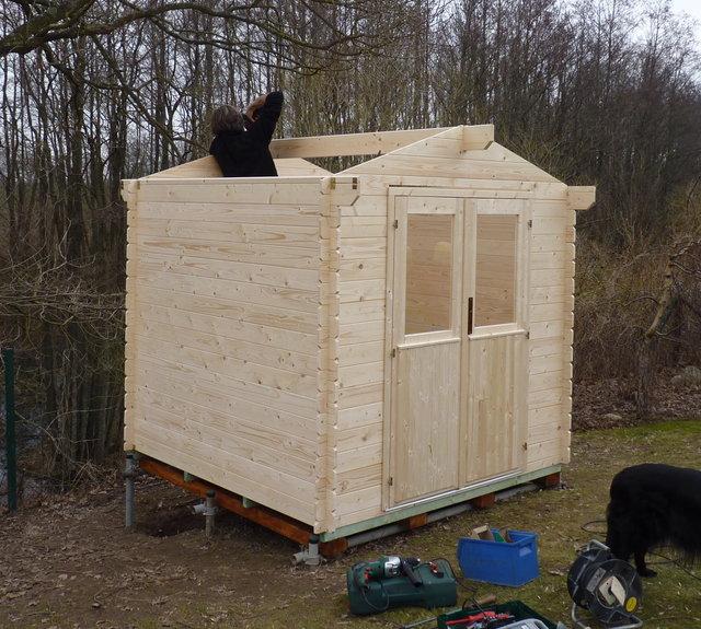 El blog de la elena un blog dulce divertido y - Caseta de madera para jardin ...
