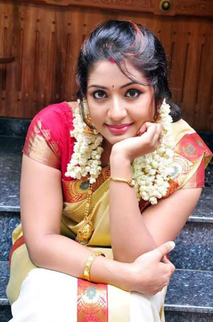 Navya Nair saree stills