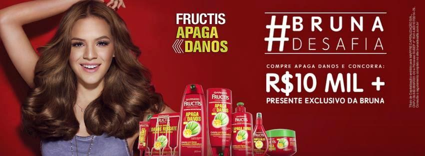 "Promoção #Brunadesafia"" Garnier"