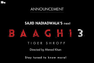 Baaghi 3 First Look Poster
