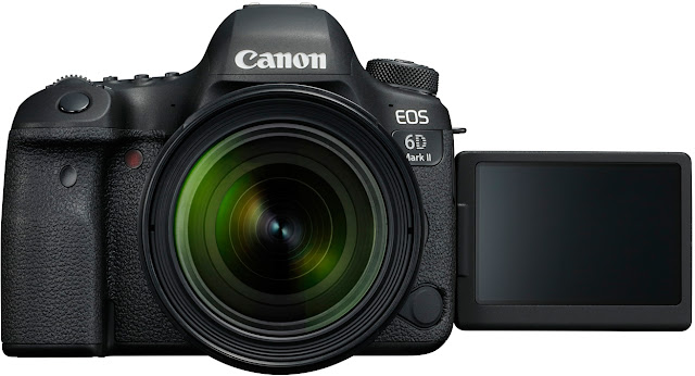 Canon EOS 6D Mark II Key Features Specs