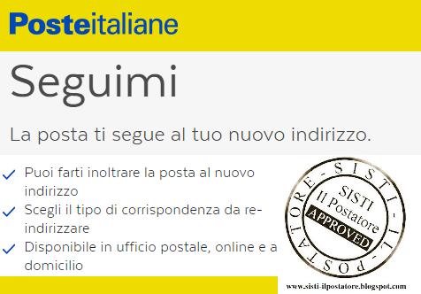 modulo seguimi poste italiane