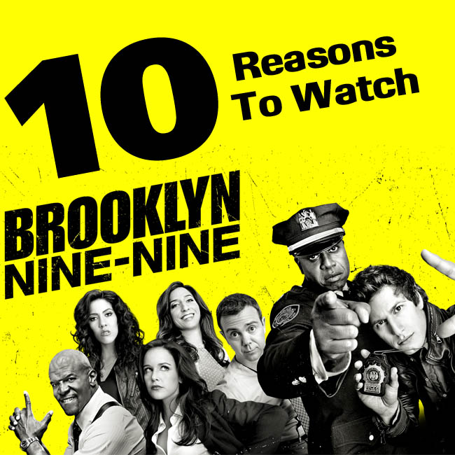 Know Your Show: Brooklyn Nine-Nine #AtoZChallenge
