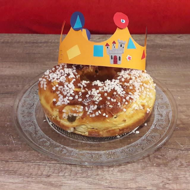 recette galette des rois brioche briochée fruits confits sud délicieuse facile
