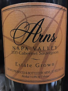 2013 Arns Winery Estate Grown Cabernet Sauvignon