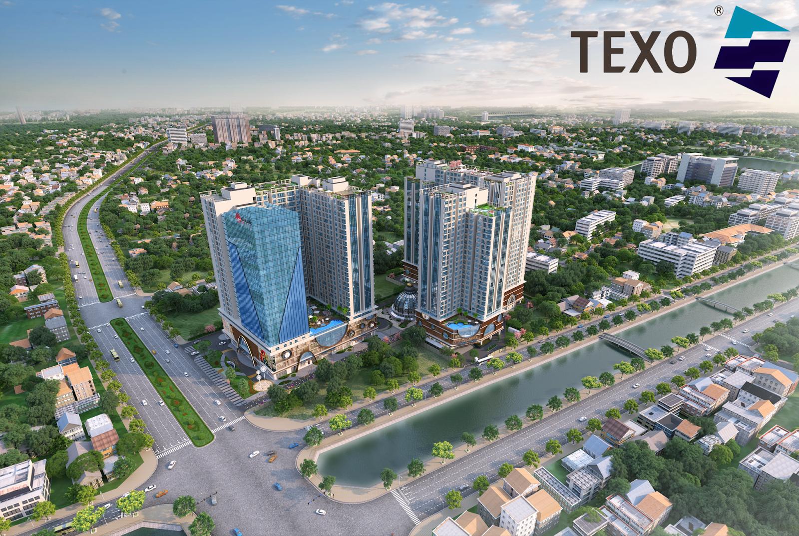 Texo đơn vị giám sát của dự án Hinode City Minh Khai