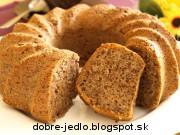 Gaštanovo-orechová bábovka - recept