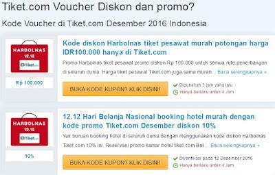 Voucher Saleduck Tiket-com