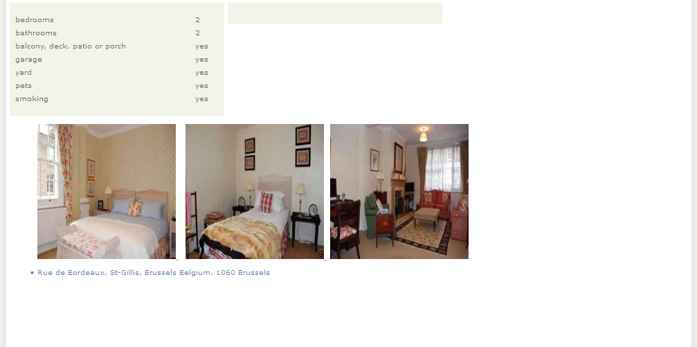 Furnished Apartments For Rent In Brussels