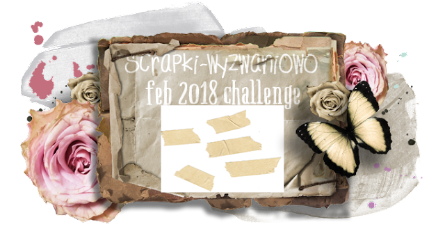 February 2018 challenge - Masking Tape