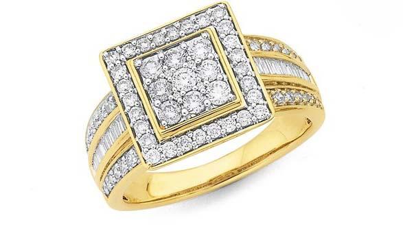 contoh cincin emas terbaru