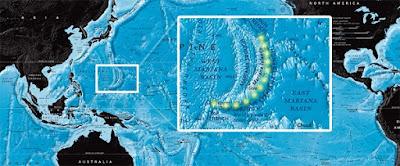 Η τάφρος των Μαριανών, το βαθύτερο σημείο του πλανήτη