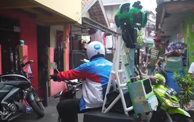 Cara Google Street View Merekam Gambar